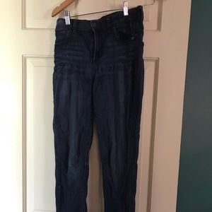 Express High Waisted Jean Legging size 4